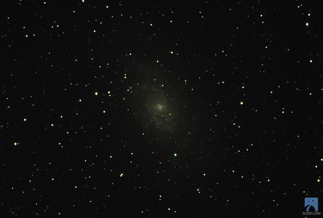 Slooh çekimim M33