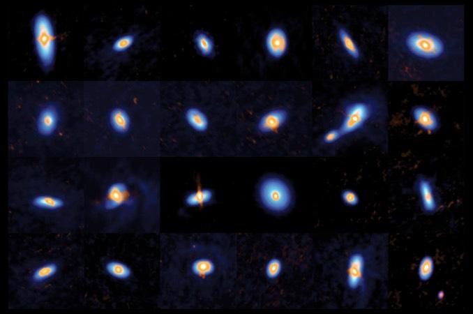 Orion'daki yeni doğan yıldızlar tespit ediliyor.